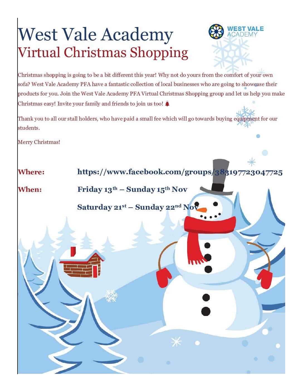 PFA Virtual Christmas Shopping