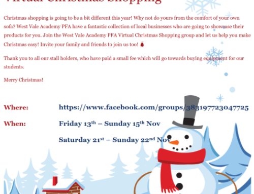 PFA Virtual Christmas Shopping