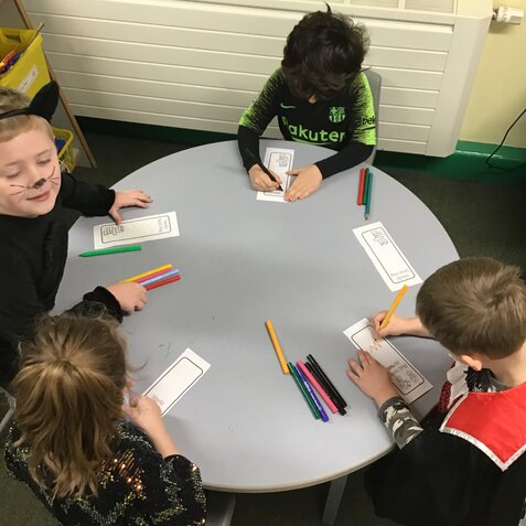 Class 1 World Book Day March 2021