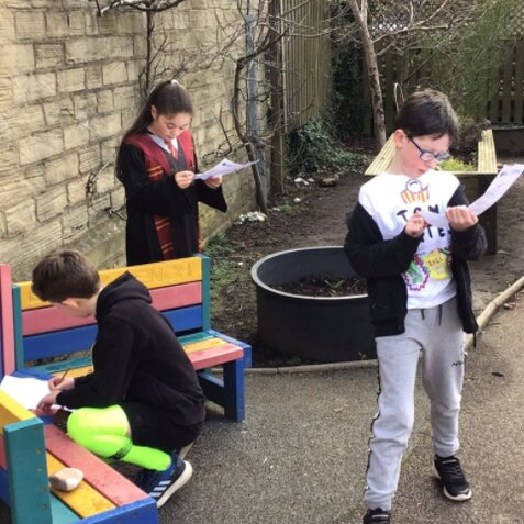 Class 5 World Book Day March 2021