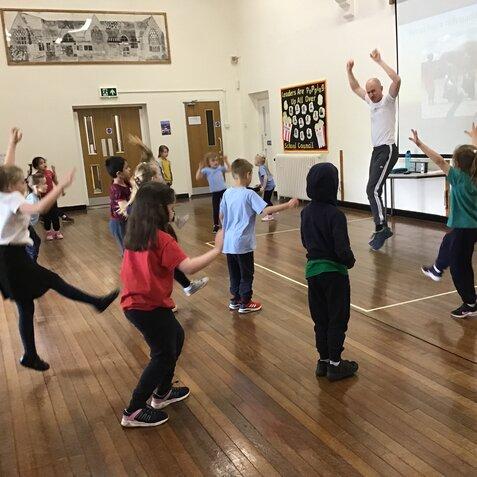 Class 2 Learning through dance