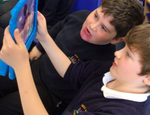 C5 – Using virtual reality to inspire their writing